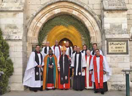 Bishop Michael Curry visits Holy Land with Archbishop Welby