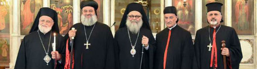 Picture of the 5 patriarchs of Syria