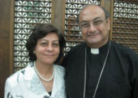 Rev Dr Bahig Ramzy with his wife Nadia