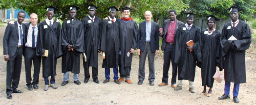 Students and Teachers from Gambella Anglican College W. Ethiopia
