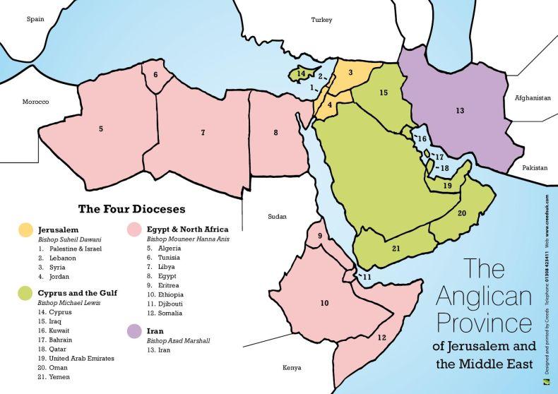 The Four Dioceses JMECA
