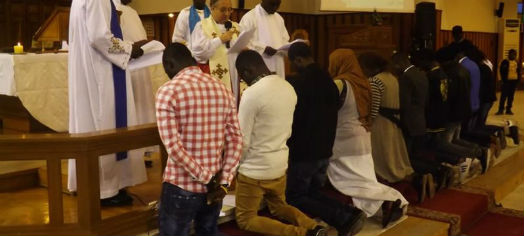 Confirmations and Baptisms at Sudanese All Saints Cathederal