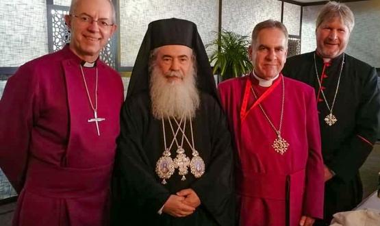 Anglican Primates meet in Jordan