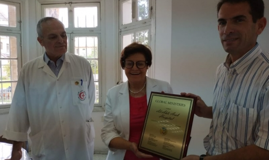 Al Ahli Hospital Receives Global Ministries Award