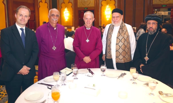 Archbishop Justin Welby Visits Egypt to Celebrate the New Province