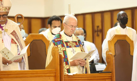 Archbishop of Canterbury leads Prayers for the New Province of Alexandria