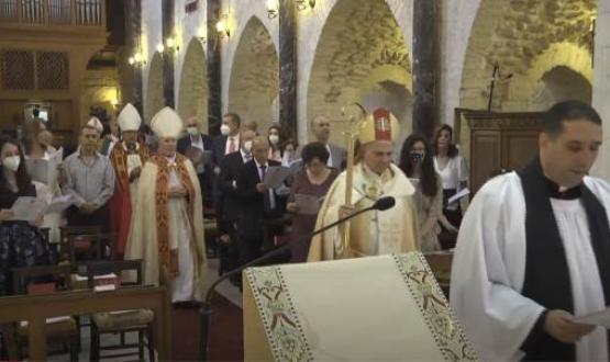Consecration of the Coadjutor Bishop in the Diocese of Jerusalem