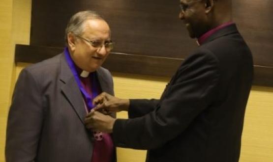 Interfaith Award for Bishop Mouneer Anis