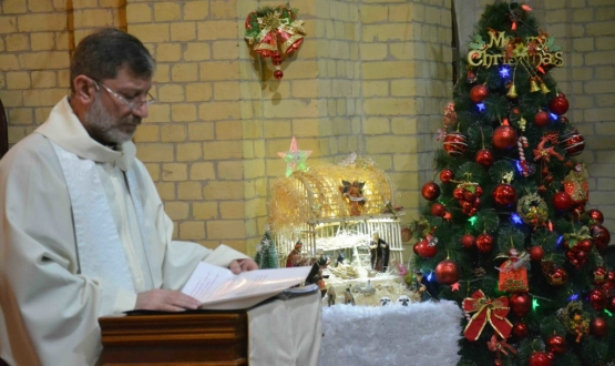 Ready for Christmas at St George Baghdad