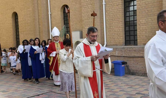 Palm Sunday Celebrations in Iraq