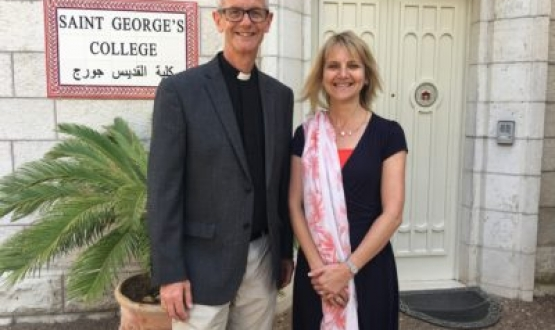 A New Dean for St George's College, Jerusalem