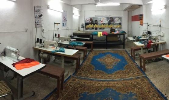 "Bishop Mouneer opens a ""Sewing Workshop"""